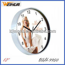 Antique wall clock design/Aluminum wall clock/Metal wall clock