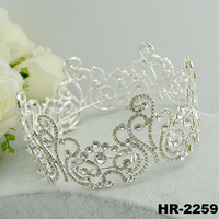 Hair accessories accessory fashion jewelry glitter wedding accessories big pageant crowns for sale beauty queen crowns