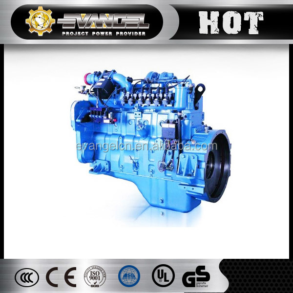 ShangChai SC8DT230 Power Generator Natural Gas Small Engines For Sale