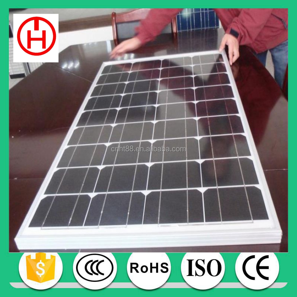 Normal Specification and Commercial Application mono 130w solar panel in China
