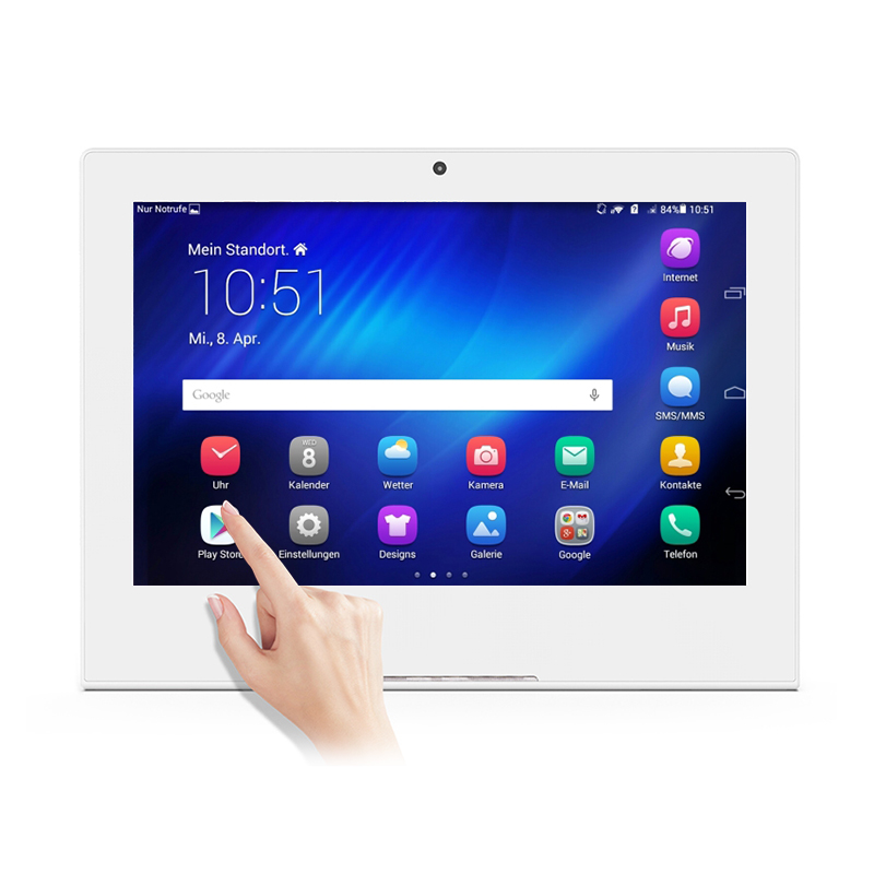 10.<strong>1</strong>&quot; 10-Point capacitive touch Android 8.0 Tablet with NFC Poe HD-MI output 2GB+16GB