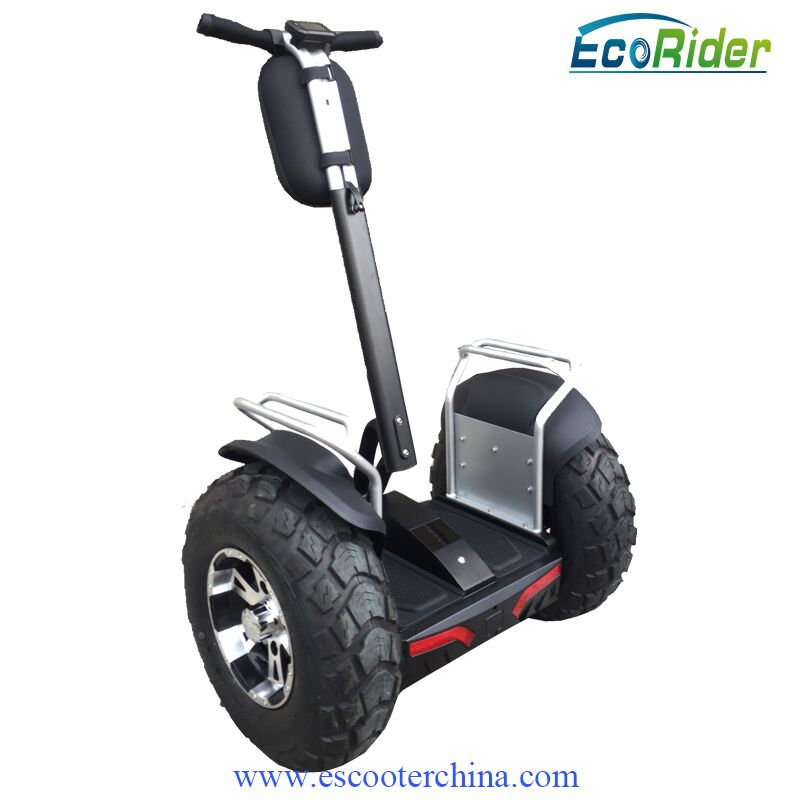 EcoRider China Electric Chariot Scooter, Two Wheel Electric Personal Transporter Vehicle