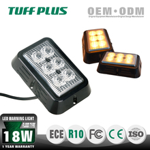 Great price 18W car truck emergency 4 flash patterns led warning light
