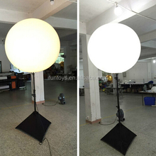 Factory Price Superior Quality Adjustable Tripod Stand Led Moon Shape Inflatable Light Balloon for Event