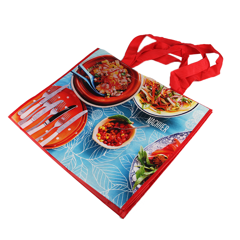 Transparent Custom Casserole Insulated Shopping Bag