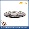 MUK hot sale hotel restaurant european style dinnerware stainless steel fish pan