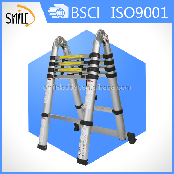 Wholesale ultimate ladder as seen on tv double side telescopic ladder