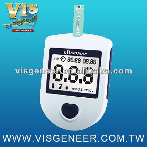 5 secs measuring results Small medical Blood Glucose Monitoring System