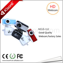 On promotional price driverless usb 2.0 web camera JS-112