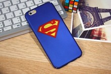 New Arrival case for iphone 6 Super man/iron man Soft TPU phone cases for iphone 6s plus