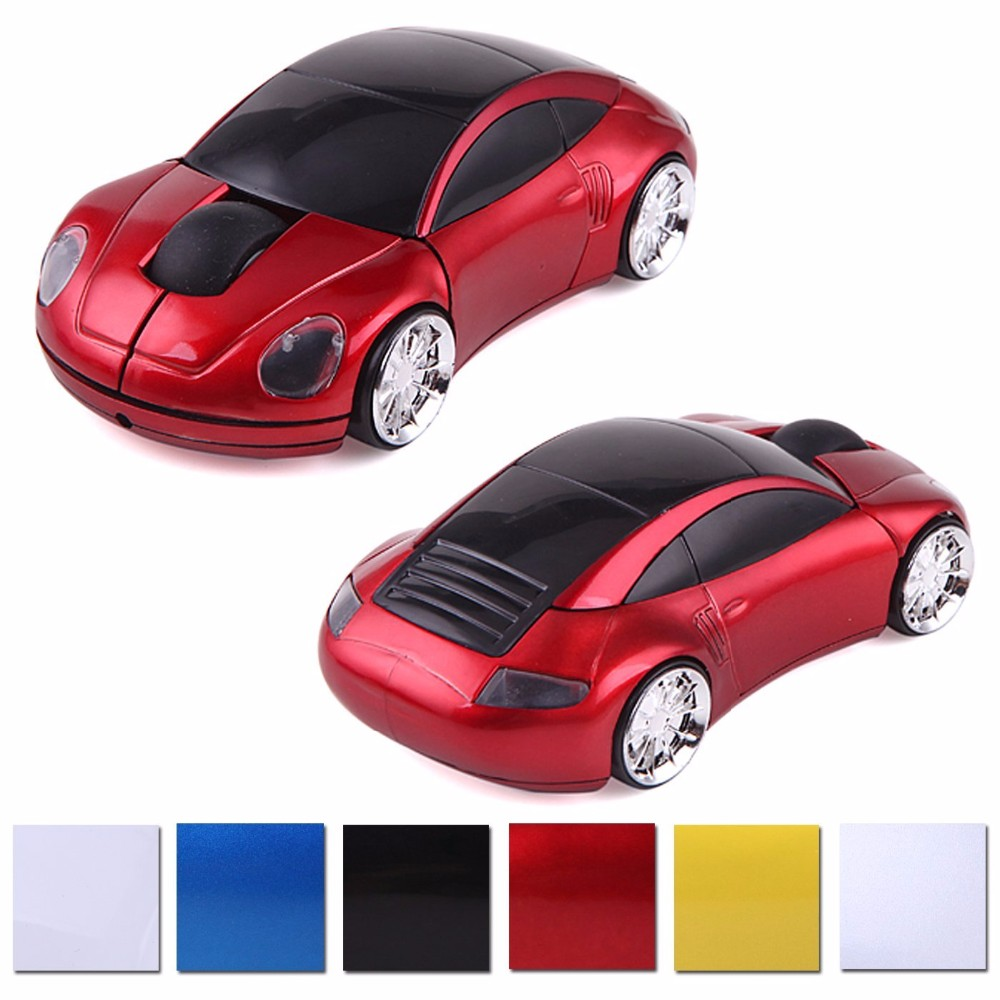 New Fashion Sport Car Shape Wireless Mouse