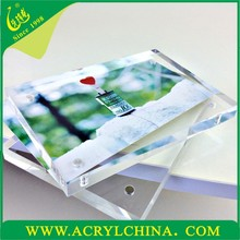 Hot-sale clear perspex waterproof outdoor free picture frames
