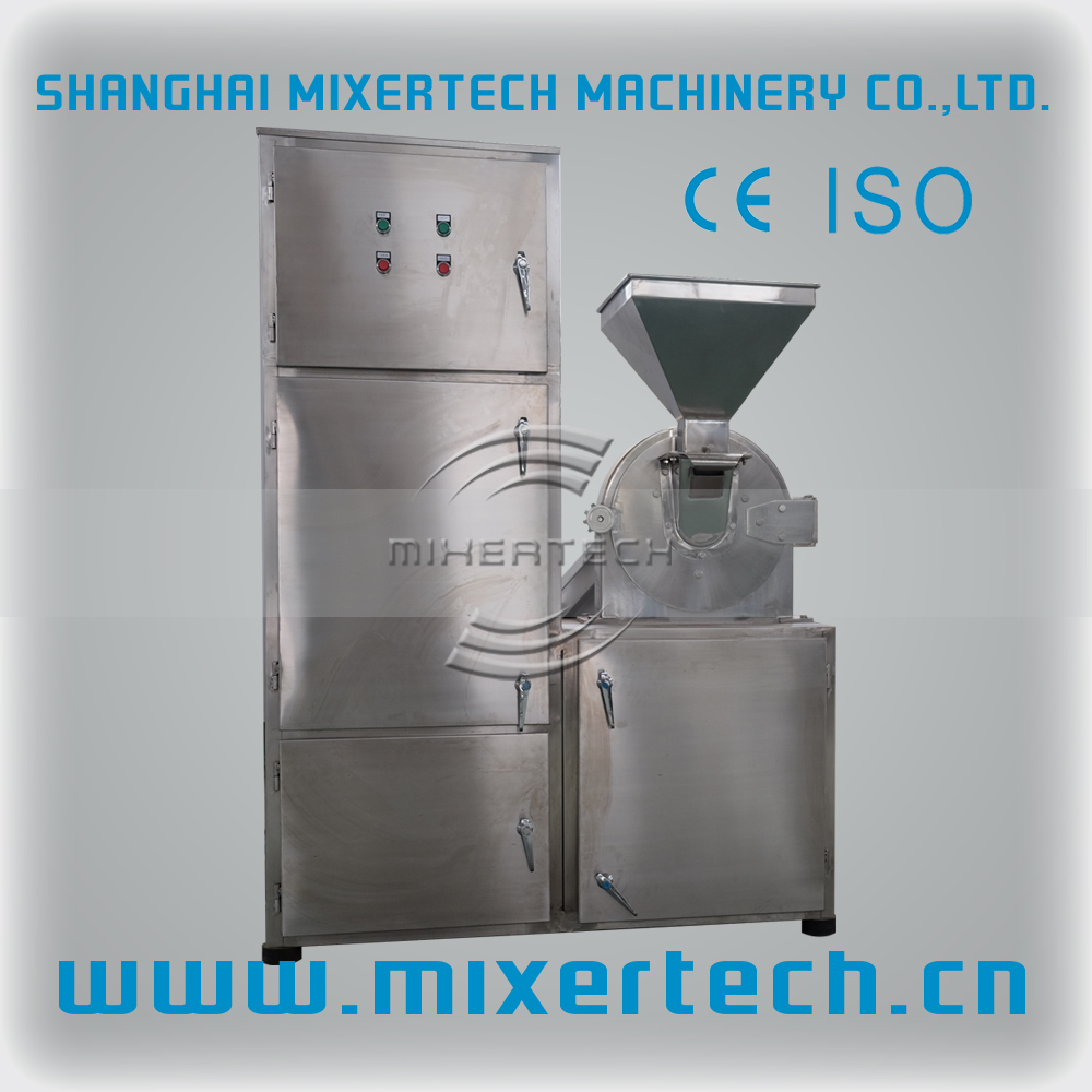 Rock Salt Crushing Machine / Cane Rock Sugar Milling Machine / Sugar Pulverizer