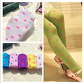 New fashion baby kids child girls children's tights heart-shaped baby kids child girls lovely baby leggings