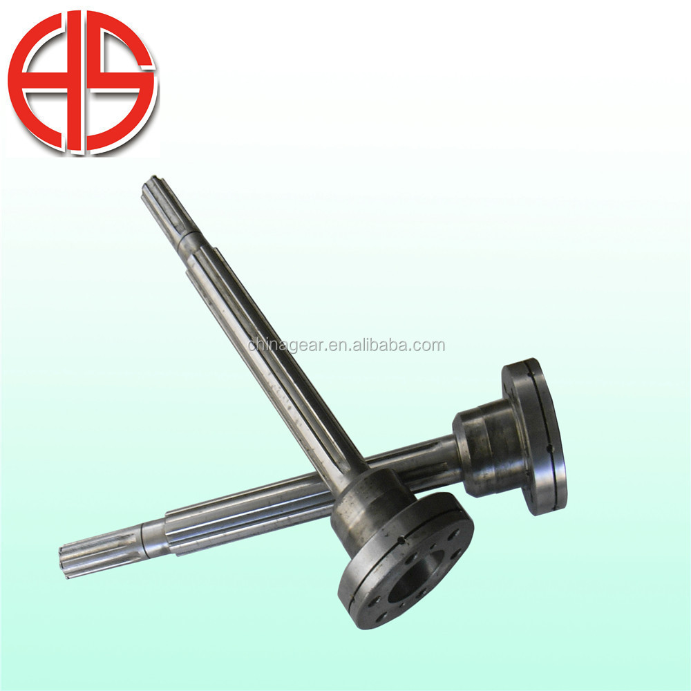 China shaft manufacturer Hot selling product steel spline shaft