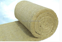 High Temperature Resistant and Easy Handling Insulation Rockwool Marine Wire-meshed Blanket with Aluminum Foil