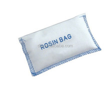Rosin Bags Hand Conditioner The non-slip gripping power of rosin in a convenient, vinyl carrying pouch Fits easily in pocket,