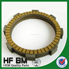 paper material Racing bike clutch disc factory sell,India Clutch plate wholesale,cg125 plates with high quality!