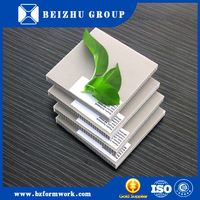 Construction Material Poplar Core Melamine Faced