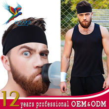 Best Guys Sweatband Sports Headband Running Crossfit Working Out Dominating Performance Stretch Moisture Wicking Mens Headband