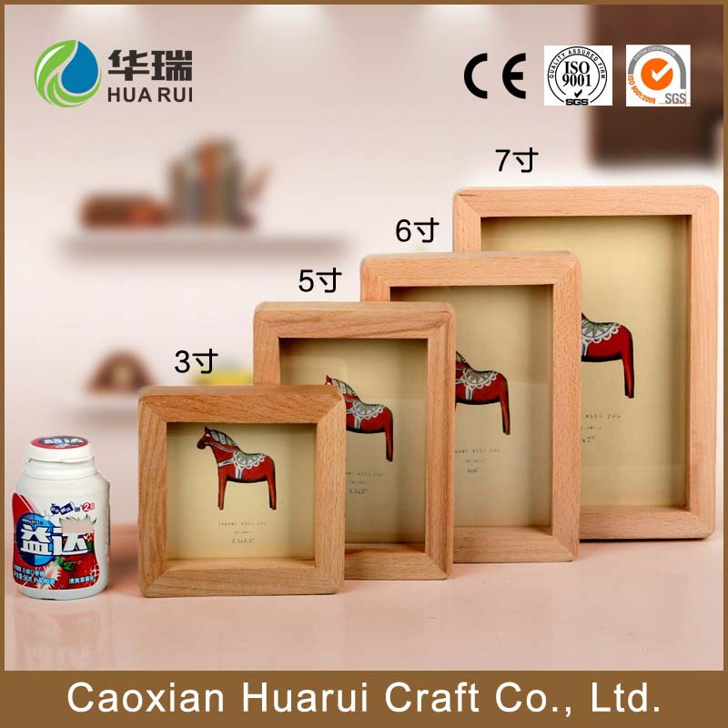 wholesale custom shadow box wooden photo frames