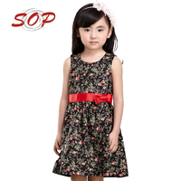 Wholesale Children Boutique Clothing Girls Cotton Frock Designs Child Dress