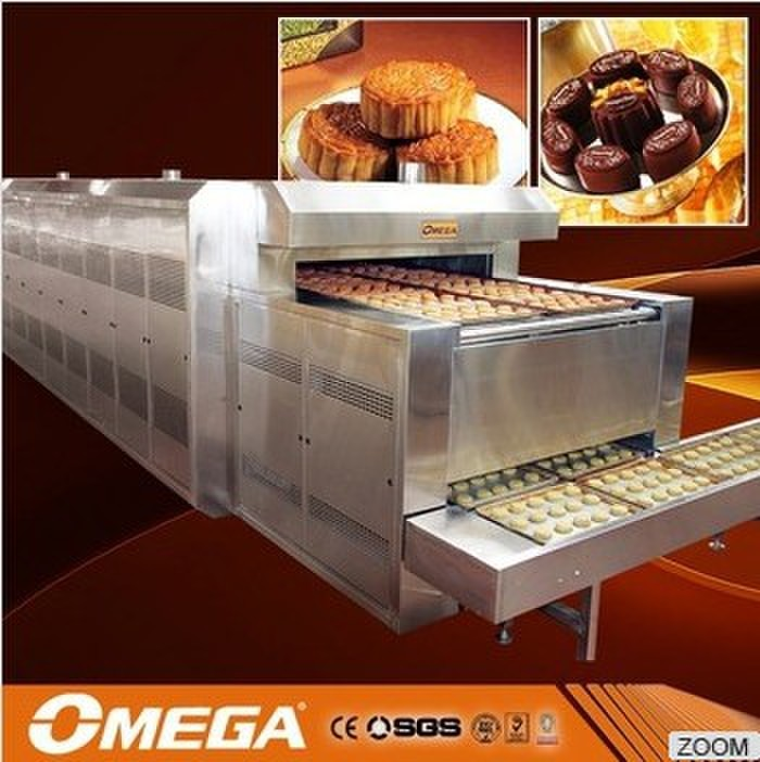continuous tunnel type oven/dryer bake oven