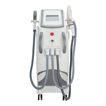 3 in 1 OPT IPL RF Nd Yag Permanent Laser Hair Removal and Skin Rejuvenation Machine