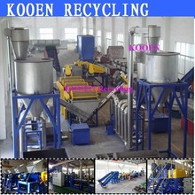 China selling wasted pe pp plastic film bags washing line recycling machine plant