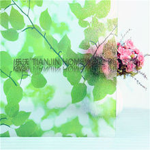 P025 2d printing static cling pvc decorative film decorative window film electric tint film