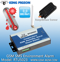 GSM SMS air-conditioner controller RTU 5023 temperature monitoring and Automatically Control the temperature for saving energy
