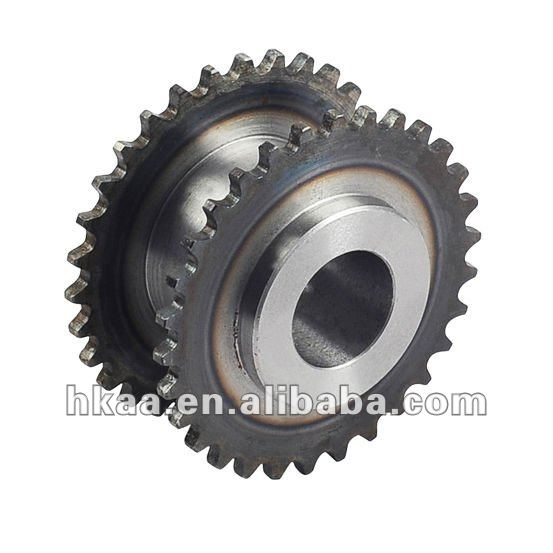 metal double row sprocket
