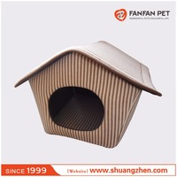 Microfiber pet house for dog and cat