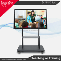 Commercial application 65 inch infrared multi touch screen kiosk all in one pc