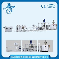 Double screw automatic plastic pe sheet extrusion machine line