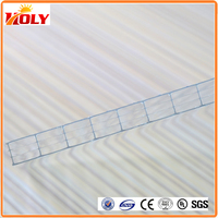 double sided adhesive sheet / sheet of transparent hard plastic / multiwall polycarbonate sheet