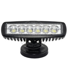 "single row 6""inch bar 18w 6leds 15w square 27w round led work lamp light car parts truck led lamp light"