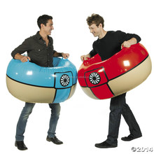 Crazy inflatable belly bump ball,cheap bumper ball inflatable ball for adults
