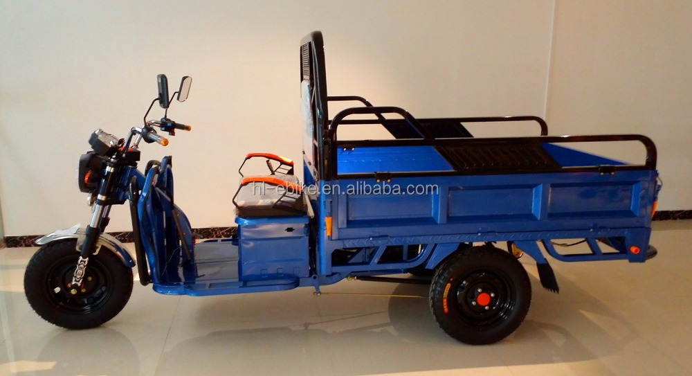 new model electric cargo tricycles/trikes/vehicles/electro-motorcycle/rickshaw/voiture/cyclomotor 1100003