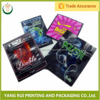 China online selling Custom Printing platinum herbal incense bags