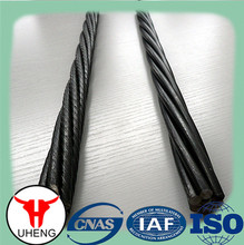building materials PC steel strand used in concrete railway sleepers