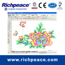 Richpeace Welcome Embroidery Design CAD System Software