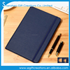 Custom molskin leather journal elastic strap notebook with lined writing paper