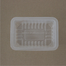 customized high quality PVC / PET retail food plastic container / blister clamshell for food