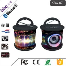 BBQ KBQ-07 5W 1200mAh 2015 China Best Sale Design Bluetooth Speaker Surround Home Theater