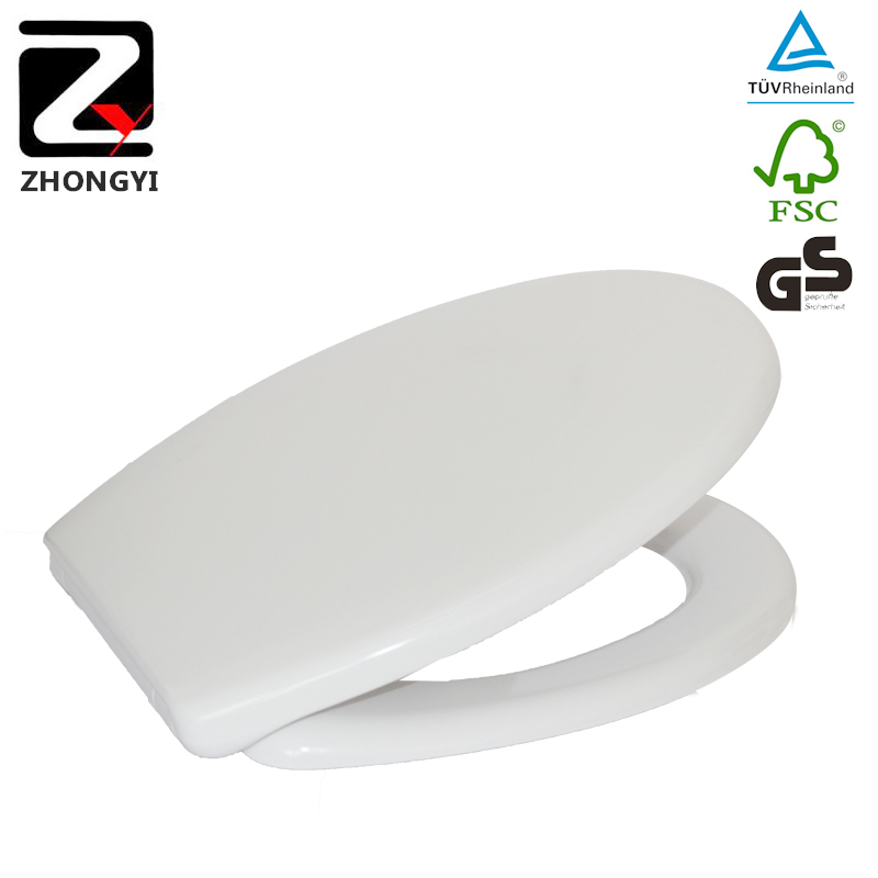 Modern duroplast shower toilet lid cover