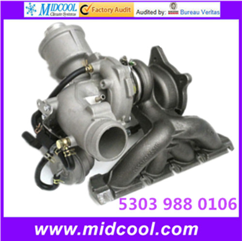 <strong>K03</strong> QUALITY TURBO <strong>TURBOCHARGER</strong> FOR AUDI 5303 988 0106 53039880106