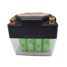 Luxury motorbike battery top brand A123 LiFePO4 12v 4.6 ah battery for Motorcycle Starting