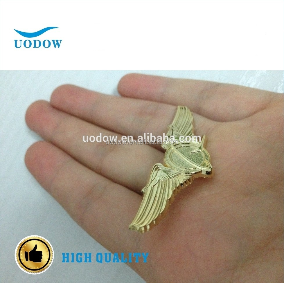 Small RAF Wings Military Hard High Quality Enamel Lapel Pin Badge