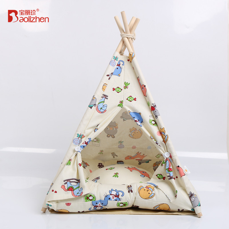 Spring and summer new pet tent can be used to wash